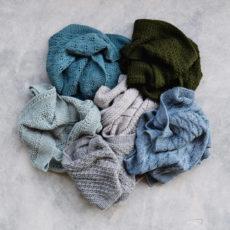 scarf-pile